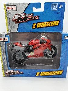 Miniatura Ducati 1199 Panigale - Escala 1/18 - Maisto Fresh Metal