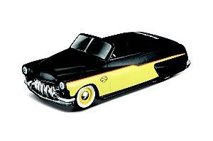 1:64 - FORD MERCURY 1950 - HARLEY DAVIDSON - CARROS SORTIDOS