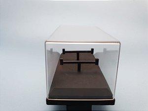 Caixa Acrílica (Expositor) - Miniaturas na Escala 1/64 - 1 unidade