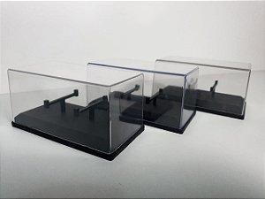 Kit Caixas Acrílicas (Expositores) na Escala 1/64 - 10 unidades