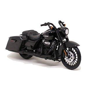 Miniatura Moto Harley Davidson Road King Special 2017 - Escala 1/18 - Maisto