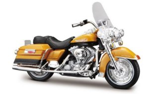 Miniatura Moto Harley Davidson Road King FLHR 1999 - Escala 1/18 - Maisto