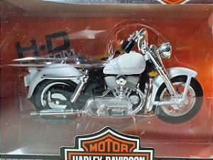 Miniatura Moto Harley Davidson K Modelo 1952 Escala 1/18