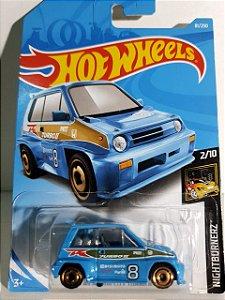 Miniatura Honda City Turbo II 85 - Hot Wheels - Nightburnerz #2