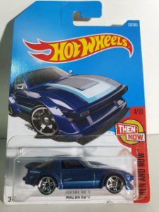 Miniatura Mazda RX7 - Hot Wheels - Then and Now