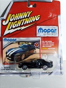 Miniatura Johnny Lightning - Dodge Viper GTS 1999 - Mopar