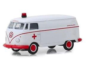 Miniatura Volkswagen Kombi 1964 Ambulancia - Escala 1/64 - Vee-Dub