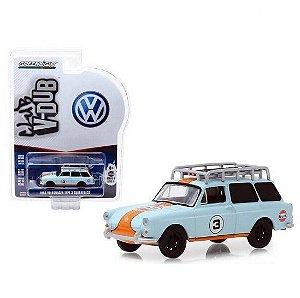 Miniatura Volkswagen Squareback 1965 Gulf - Escala 1/64 - Vee-Dub