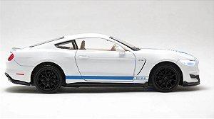 Miniatura Mustang GT em Metal com Som de Motor e Luz - California Action