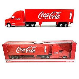 Caminhão Coca Cola Kenworth T700 6x4 - Escala 1/32 - Com Cavalo e Carreta