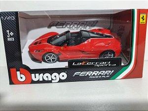 Miniatura Ferrari La Ferrari Aperta - Escala 1/43 10cm - Burago