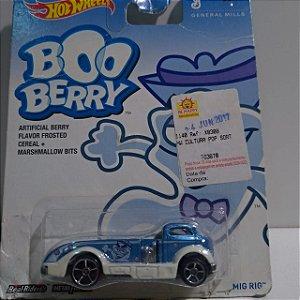 Miniatura Hot Wheels - Boo Berry - General Mills - Mig Rig