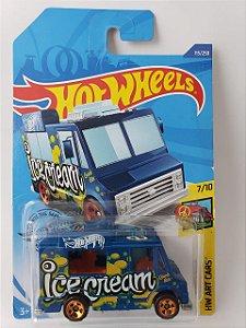 Miniatura Hot Wheels - Quick Bite Ice Cream - HW Art Cars