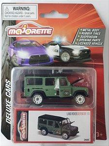 Miniatura Majorette - Land Rover Defender - Deluxe Cars Escala 1/64