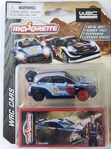 Miniatura Majorette - Hyundai I20 WRC Rally - Escala 1/64 Aprox 8cm