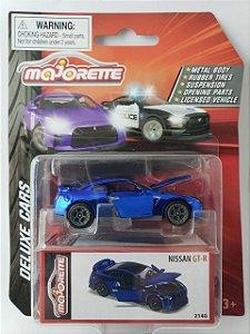Miniatura Majorette - Nissan GTR - Deluxe Cars Escala 1/64