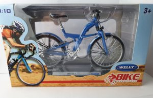 Miniatura Bicicleta BMW Q5.T - Welly - Escala 1/10 em Metal