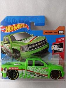 Miniatura Hot Wheels - Chevy Silverado - HW Rescue