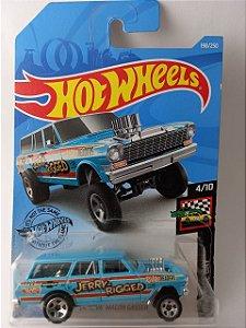 Miniatura Hot Wheels - Nova Wagon Gasser 64 - HW Race Day