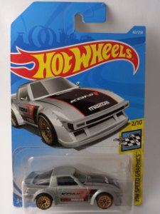 Miniatura Hot Wheels - Mazda RX7 - HW Speed Graphics