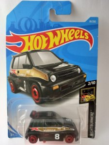 Miniatura Hot Wheels Honda City Turbo II  85 - Nightburnerz