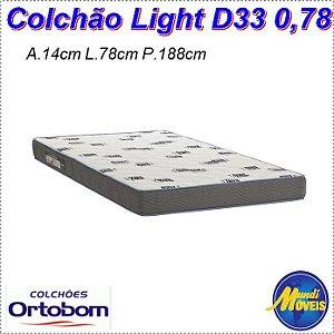 Colchão Light D33 0,78