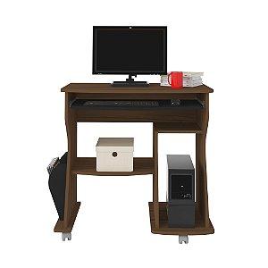 Mesa p/ Computador 160 Cor Amêndoa com Preto