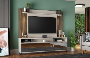 Home NT1080 Cor Off White / Nogal Trend