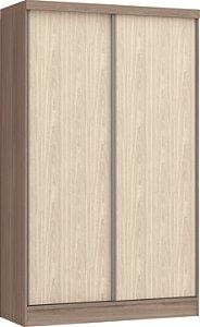 Módulo 2 Portas de Correr Requinte 6222M - Amêndoa / Nudi