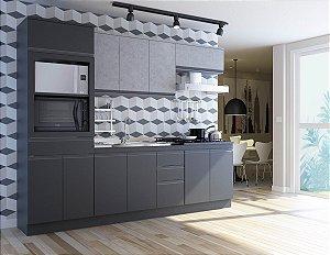 Cozinha Modulada DA CASA - Onix / Concreto