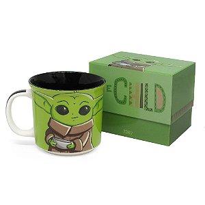 Caneca Tom 350ml Baby Yoda - Star Wars