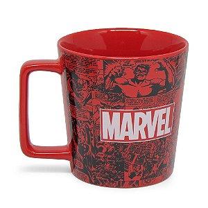 Caneca Buck 400ml Quadrinhos Marvel