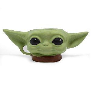 Caneca 3D Baby yoda - Star Wars
