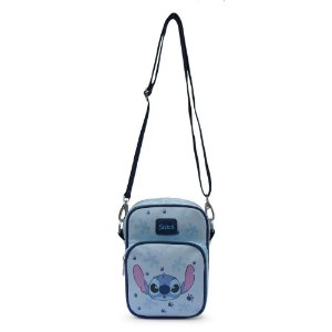 Bolsa Com Alça Transversal - Stitch Disney Original
