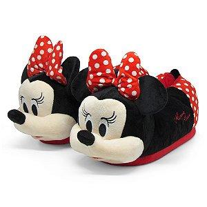 Pantufa 3D Minnie Mouse - Disney