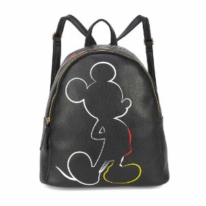 Bolsa mochila preto silhueta - Mickey Disney