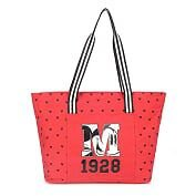 Bolsa de ombro vermelho 1928 - Mickey Mouse