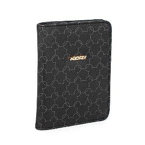 Porta passaporte silhuetas - Mickey Disney