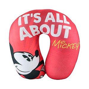Almofada de Pescoço All About - Mickey Disney