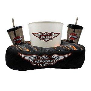 Almofada de pipoca - Harley-Davidson