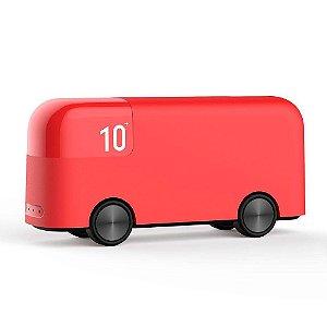 Carregador portátil vermelho London Bus