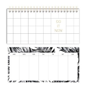 Caderno planner semanal Do it now