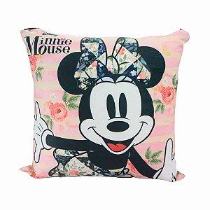 Almofada floral - Minnie Disney