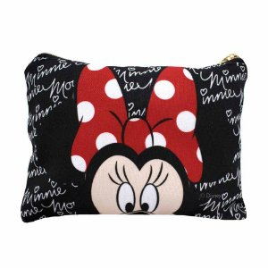 Necessaire preto - Minnie Disney