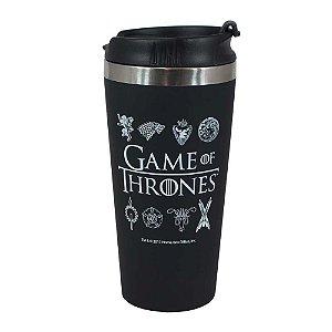 Copo viagem emborrachado - Game of thrones