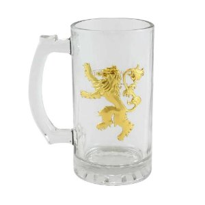 Caneco de vidro Lannister - Game of Thrones