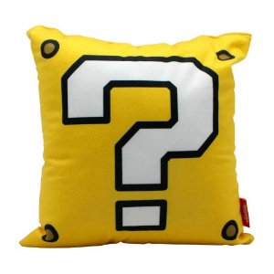 Almofada bloco de interrogação - Super Mario