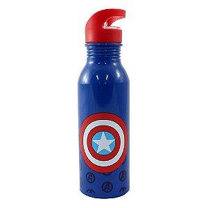 Garrafa Alumínio Capitão America - Marvel