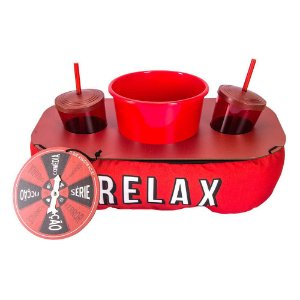 Almofada de pipoca com roleta Relax