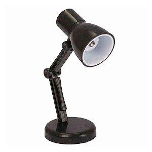 Mini luminária portátil de leitura Flex